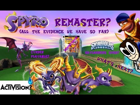 Is Activision making a Spyro Remaster? All The Evidence For A Spyro Remaster You Need (Ft. Lenn256i)