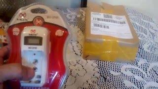 unbox carregador de pilhas com visor lcd mo cp40