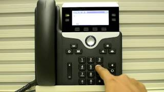 How to check call statistics on 7841 phone