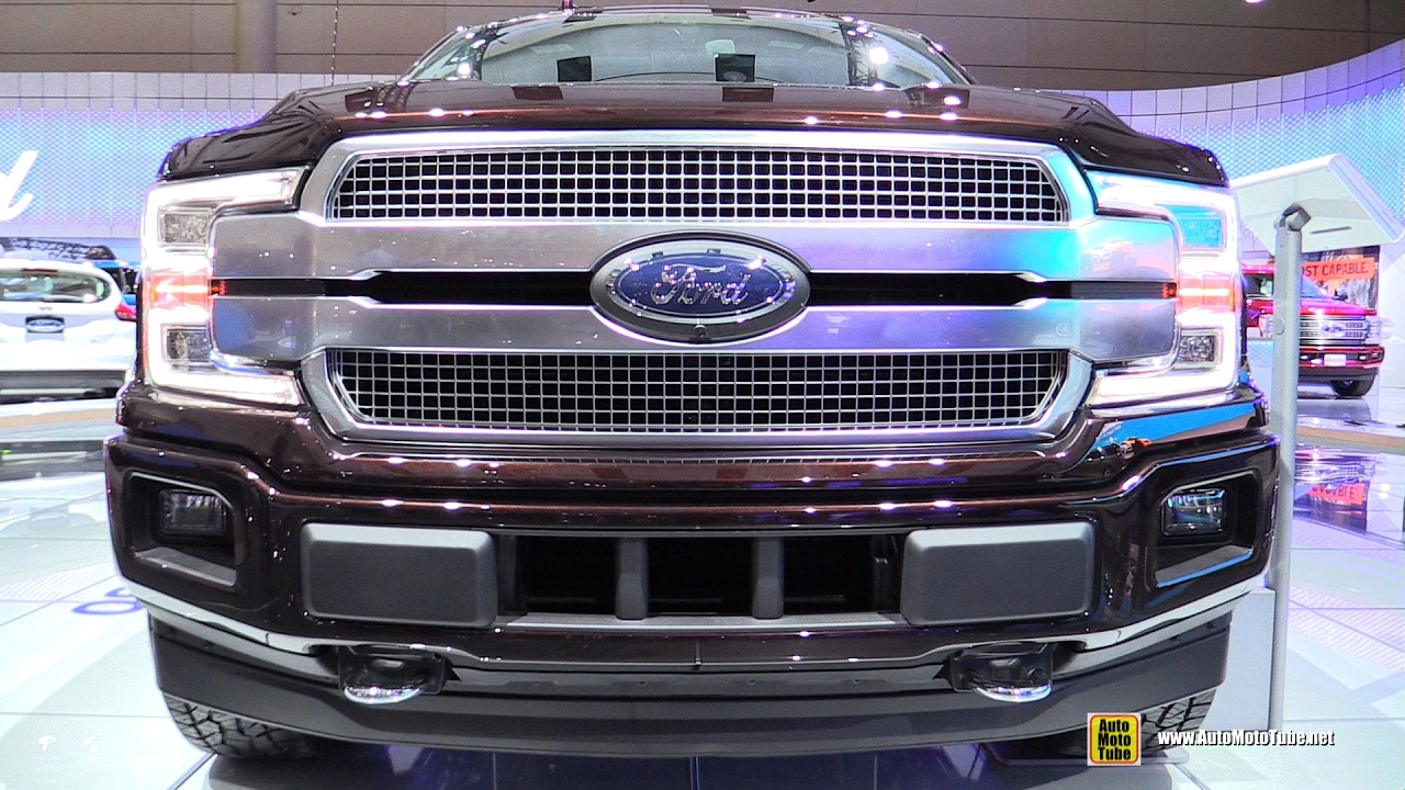 2018 ford f150 platinum exterior and interior walkaround 2017 toronto auto show youtube