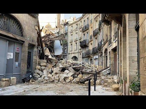 شاهد: انهيار مبنيين من ثلاثة طوابق في وسط مدينة بوردو القديمة جنوب غرب فرنسا…  - نشر قبل 47 دقيقة