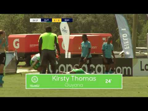CU15W 2018 Guyana vs Bahamas Highlights