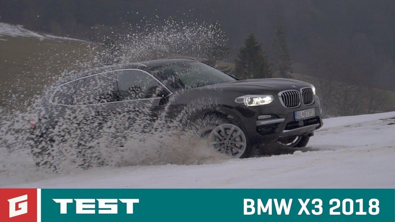 BMW X3 xDrive - TEST- SUV - GARAZ.TV - YouTube