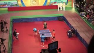 【张继科,许昕,双打】 2016奥运金牌运动员访港乒乓球及羽毛球示范表演