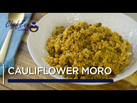 Cauli Moro | Cauliflower Moro de Gandules | Healthy Low Carb Recipes | Chef Zee Cooks