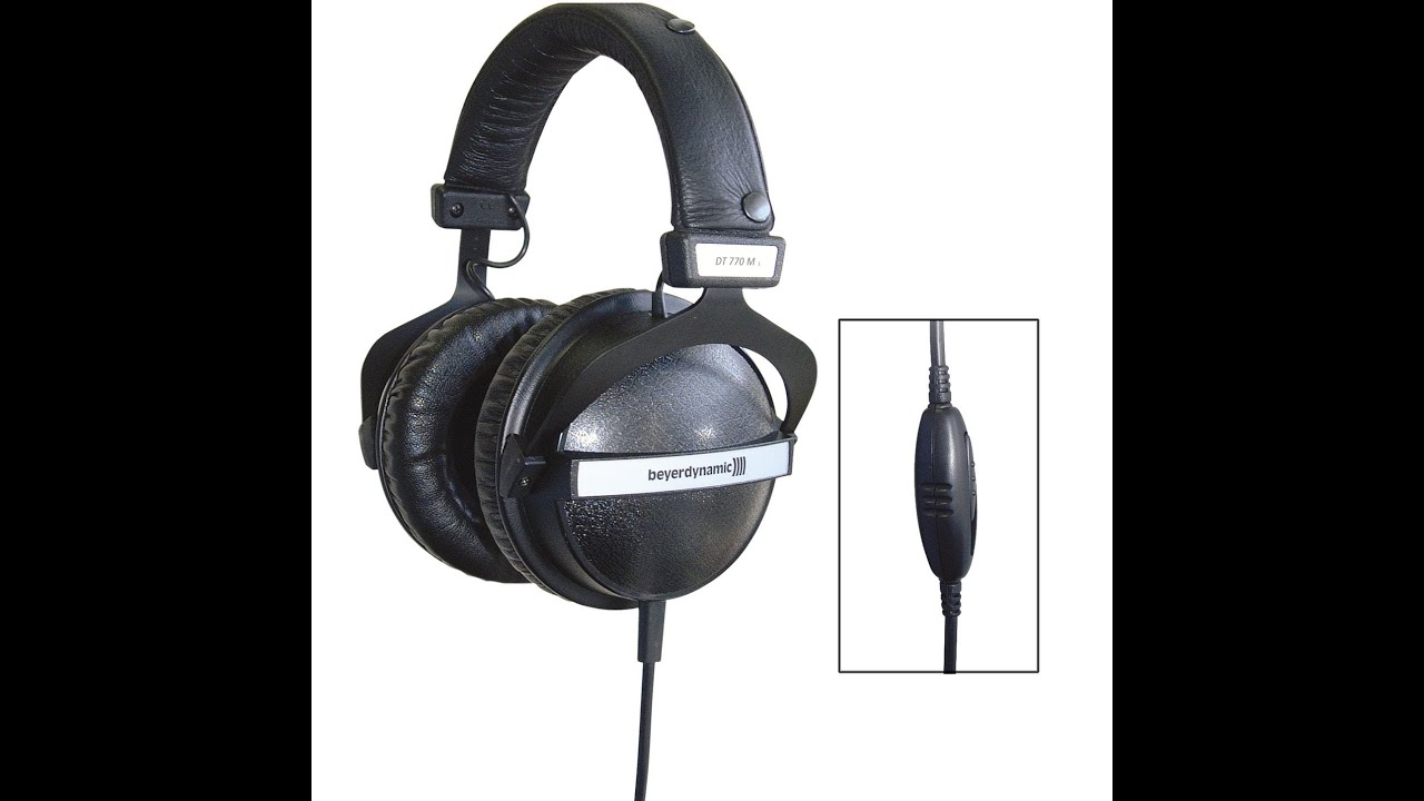 beyerdynamic dt 770 m headphone review youtube. Black Bedroom Furniture Sets. Home Design Ideas