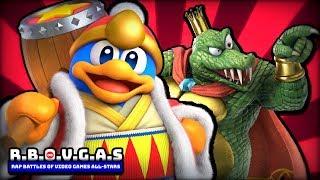 King Dedede Vs King K. Rool (Rap Battles Of Video Games All-Stars)(Season 6)