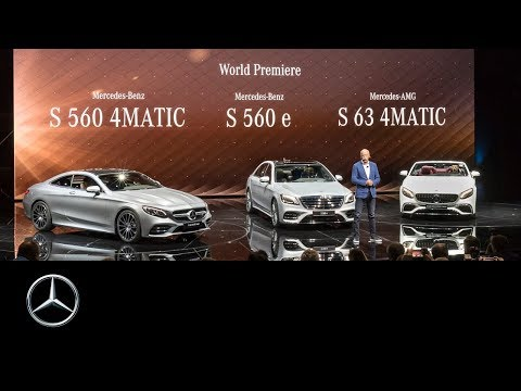 IAA 2017: Mercedes-Benz & smart press conference.