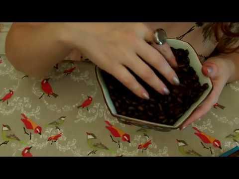 ASMR: café (propriétés, rôle social), chocolat/crinckles + binaural REUPLOAD