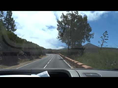 Straße road route 道路  Дорога landscape landschaft, пейзаж , paysage, Teide volcano vulkan 火山  вулкан