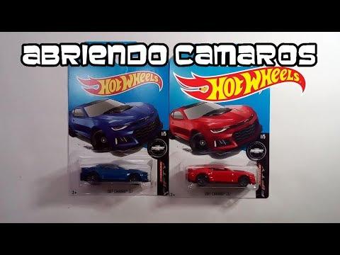 Abriendo Camaros ZL1 Hot Wheels
