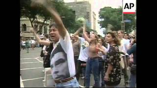 BRAZIL: DEMONSTRATIONS OVER UNEMPLOYMENT