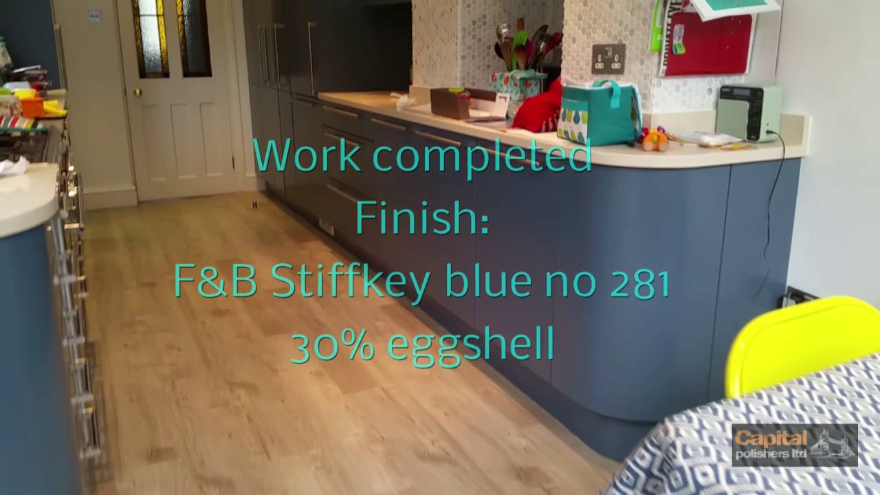 Farrow Ball Stiffkey Blue No 281 Kitchen In Custom Colour Remove