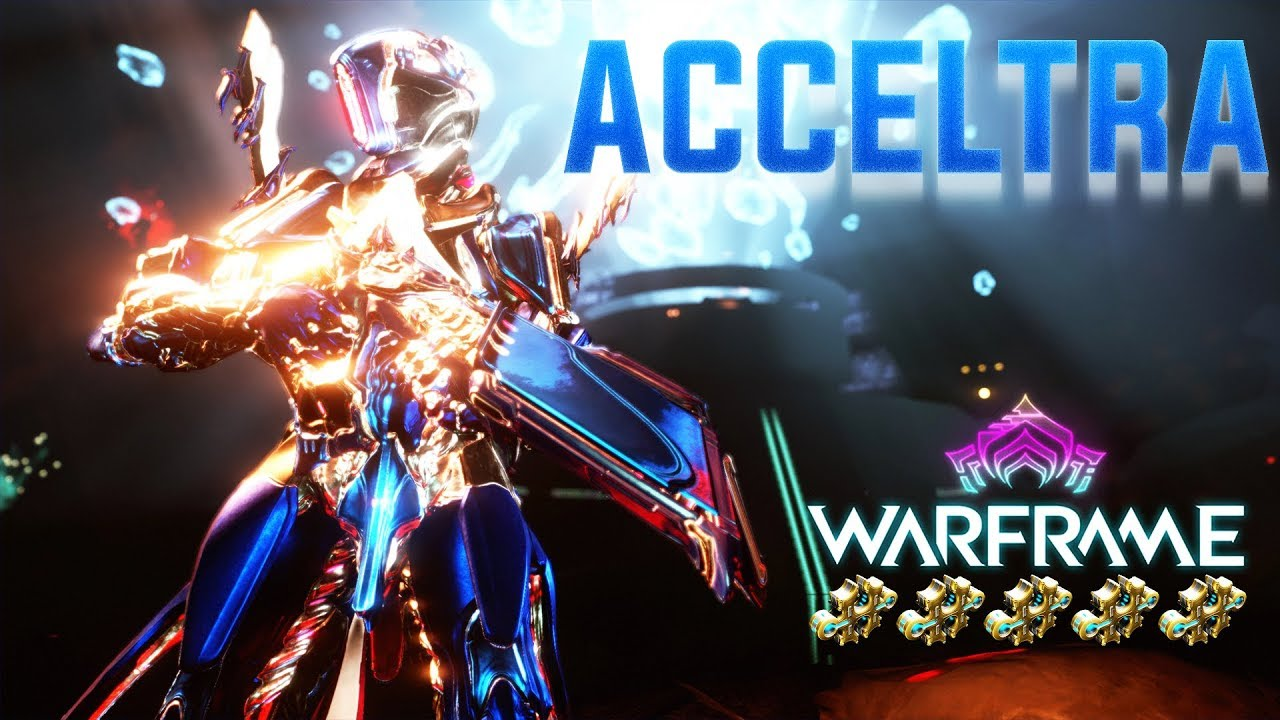 Warframe - Acceltra | A Totally Safe To Use Mini-Missile Launcher!