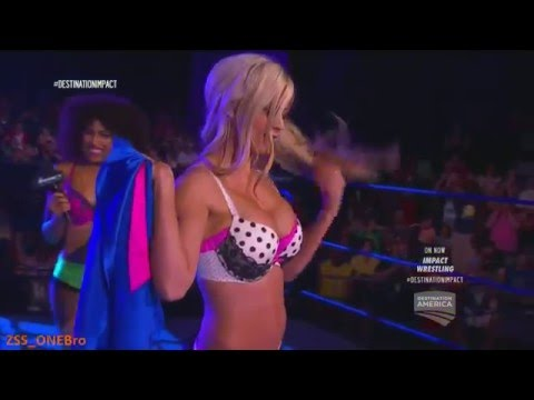 Just Taryn Terrell Strip DOLLHOUSE Jade Marti Bell TNA