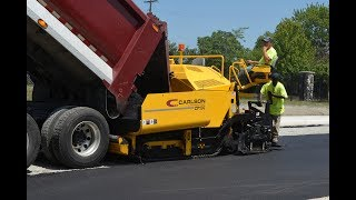 Video still for CARLSON CP130 Commercial Class Paver