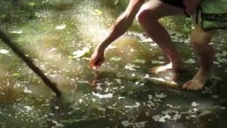 Тростянец 22.06.2016 (1)(Эксперименты с огнем на необычном водоеме ))), 2016-06-22T21:20:22.000Z)