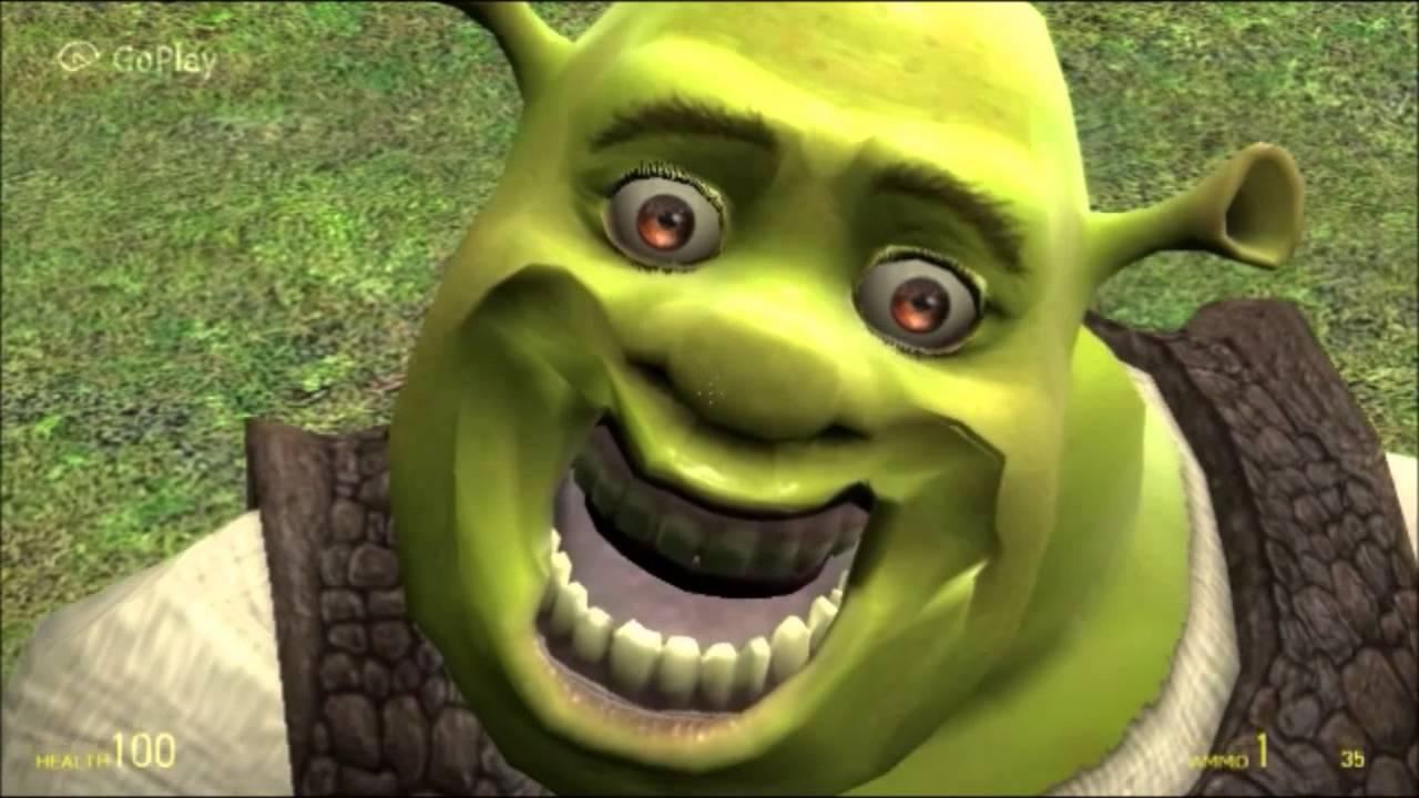 Weird Faces Shrek 6