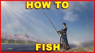 Dynasty Warriors 9: How to Fish With a Fishing Pole & Bait