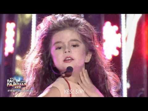Xia Vigor impersonates Thalia sings Maria Mercedes(ENGLISH LYRICS sub) vs  original Thalia