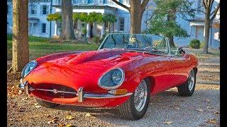 Jaguar E Type самый красивый Ягуар
