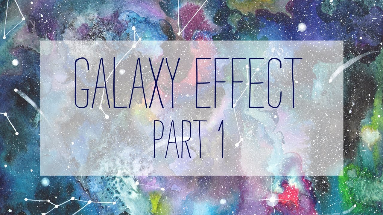 How to paint a galaxy watercolor part 1 youtube for Video tutorial on watercolor painting
