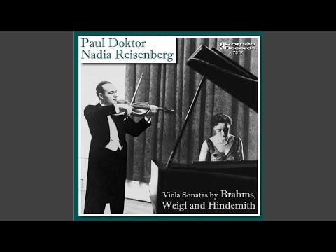 Viola and Piano Sonata No. 1 in F minor, Op. 120, No. 1: Allegro appassionato