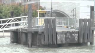 Hurricane Sandy approaches West Midtown Manhattan
