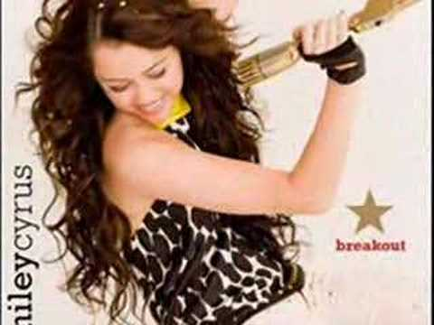 BREAKOUT-Miley Cyrus- new cd [preview]