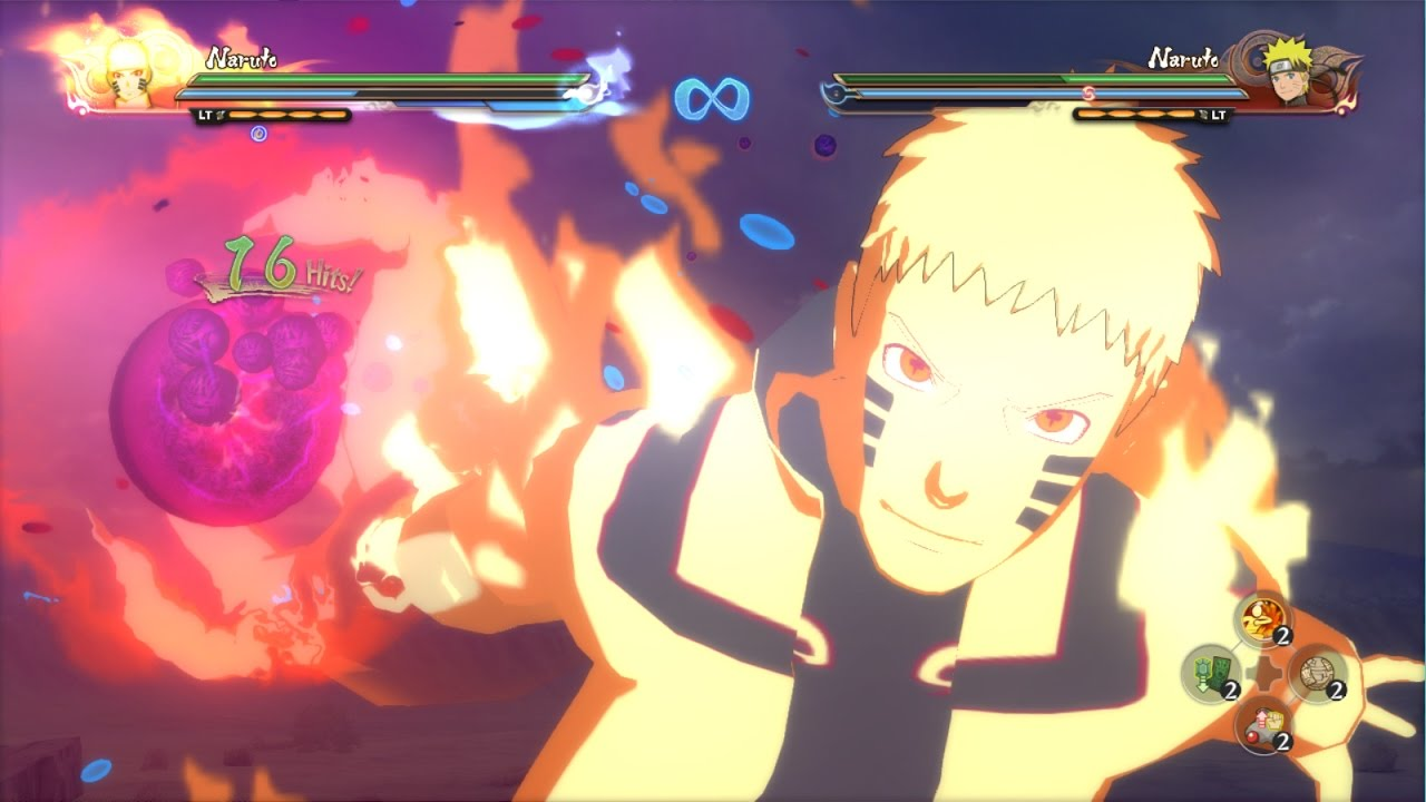 Naruto ultimate ninja storm fourth hokage