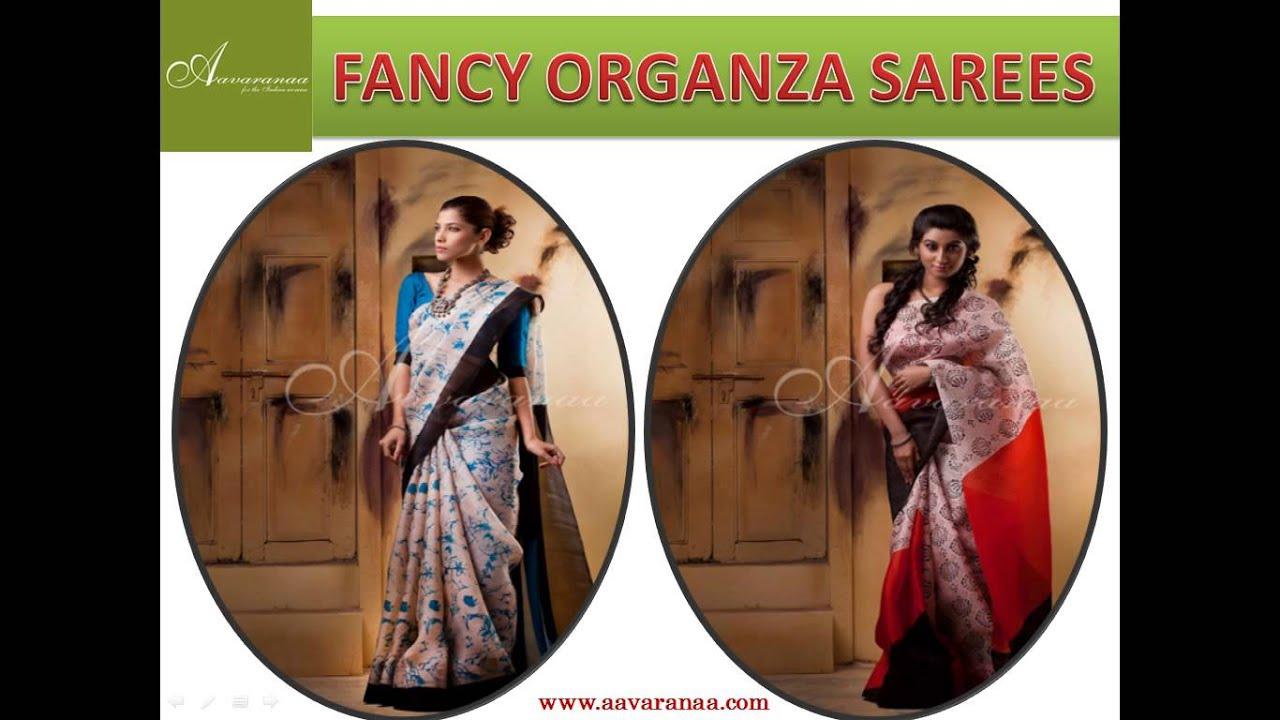 ef83593bc5 Buy Online Designer Sarees - Aavaranaa - YouTube