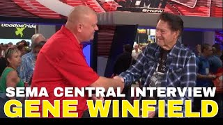Gene Winfield on 70 Years of Building Cars SEMA Central Interview at 2018 SEMA Show