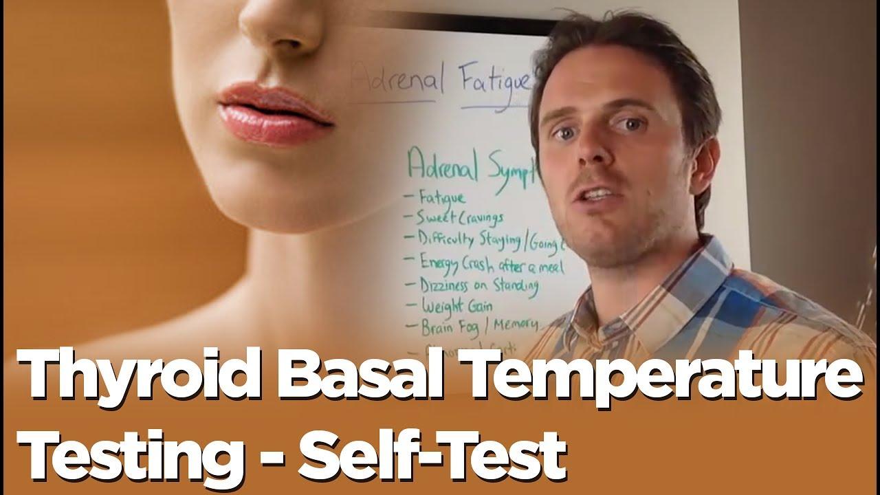 Thyroid Problem or Adrenal Problem - Thyroid Basal Temperature Testing -  Self-Test
