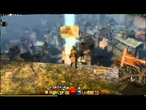 Guild Wars 2 Ebonfalken-Festung Vista (HD)
