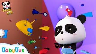 Super Panda's Magical Gloves | Magical Chinese Characters | BabyBus