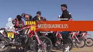 Dakar 2020 - Etapa 9 (Wadi Al-Dawasir / Haradh) - Resumen Moto/Quadriciclos