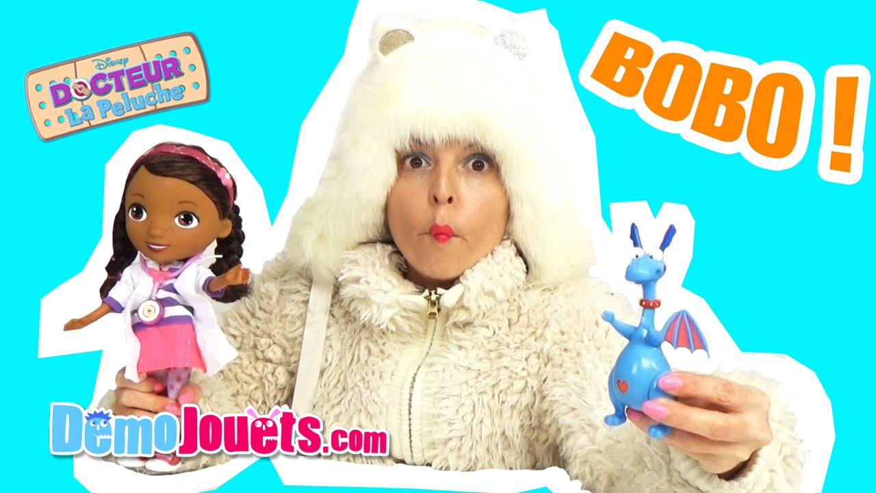 Jouet docteur la peluche caline toufy stethoscope magique d mo jouets youtube - Toufy docteur la peluche ...
