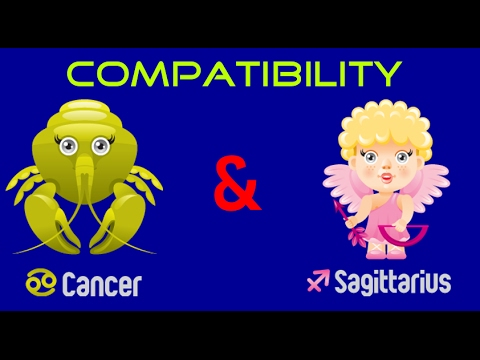 Is a cancer and sagittarius compatible