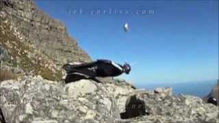 Crash Accident base jumping - base jump extrem