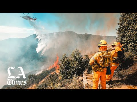 Fires Burn Across Southern California As Dangerous Winds Continue