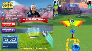 Golf Clash tips, Hole 2 - Par 5, Maple Bay -  Winter Major Tournament - ROOKIE Guide