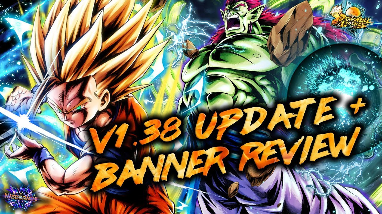 Version 1.38 Update + Boujack and Gohan Review – New Banner Format is Bad – Dragon Ball Legends
