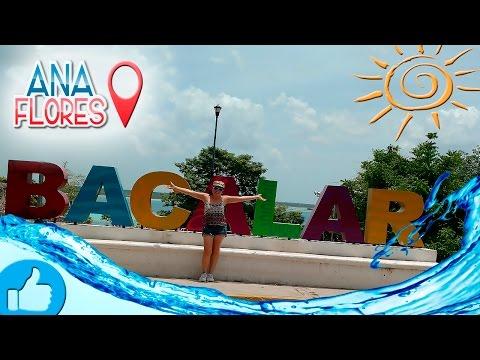 Bacalar Quintana Roo /Mexico/Pueblo Magico /Laguna de siete colores