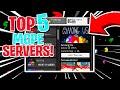 Top 5 BEST MCPE SERVERS! (1.16+)   Minecraft PE (Pocket Edition, Xbox, Windows 10, PS4, Switch)