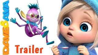 👣 Little Miss Muffet – Trailer | Nursery Rhymes and Children Songs from Dave and Ava 👣