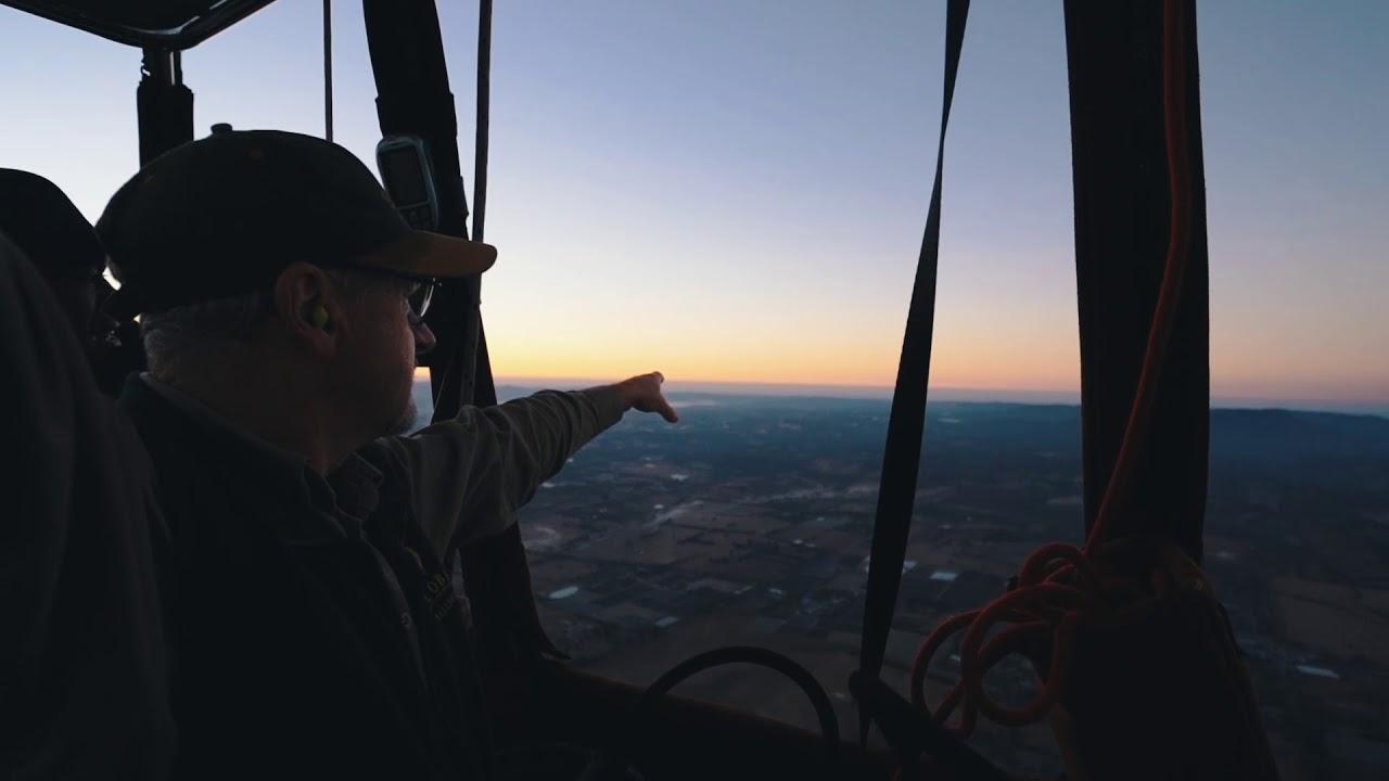 video Yarra Valley Hot Air Balloon Flight