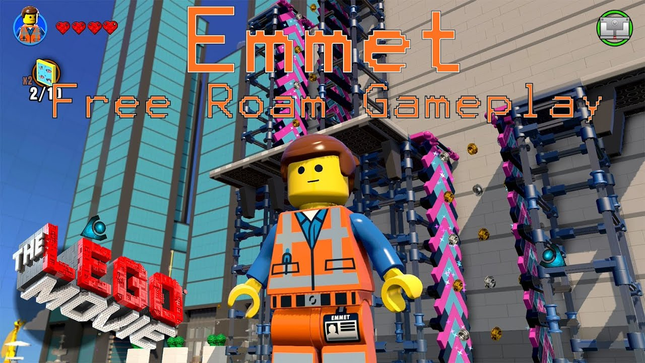 LEGO Dimensions - Emmet Free Roam Gameplay on The LEGO ...
