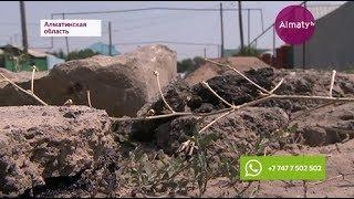 Алматы облысының тұрғындары жөнделген жолдың сапасына наразы (11.07.17)