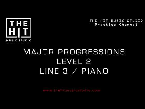 Major Harmony Progressions Level 2 (Line 3) - The Hit Music Studio