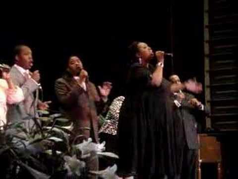 Cherub Ruth singing with David Caton and CMG
